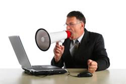 Stop yelling -