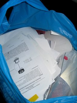 Schools should not only be encouraged to switch to recycled paper but to cut paper usage as well. Students can reduce paper waste significantly by printing on both sides of a sheet and by not printing too many drafts
