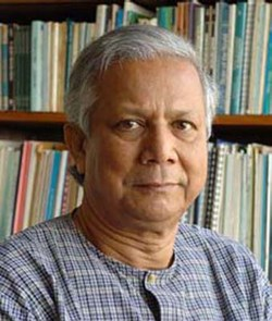 Thanks to the work of Muhammad Yunus, founder of Grameen Bank in Bangladesh, more than 7,000 microfinance institutions serve some 16 million poor people in developing countries today with $7 billion in outstanding loans. For his efforts, Yunus was awarded the Nobel Peace Prize in 2006