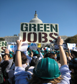Green jobs spur the new energy economy