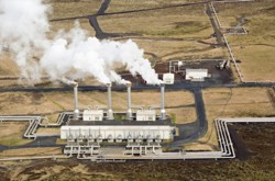 Geothermal energy is part of the alternative energy mix
