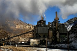 Coal wreaks environmental havoc, from the coal mining that pollutes rivers and streams, to the premature deaths of coal miners from accidents and lung diseases, to the release of greenhouse gases, mercury and other toxins at power plants. Pictured: A coal-fired power plant