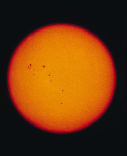 Some climate change doubters blame global warming on sunspots and/or ...