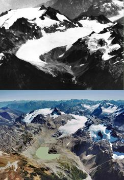 South Cascade Glacier in Washington State