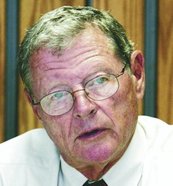 James Inhofe message at COP15 largely ignored