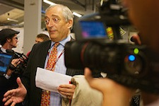 Lord Monckton - seen here tripping over his own ego