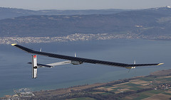 Solar Impulse takes flight