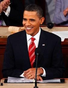 Obama calls this a Sputnik moment - urges a push toward a clean energy economy